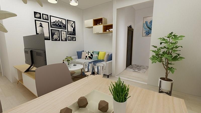希腊雅典精装4层民宿型公寓双阳台三居